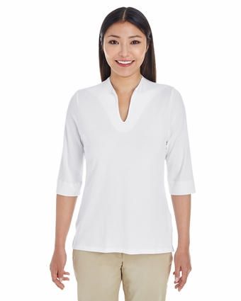 Ladies' Perfect Fit™ Tailored Open Neckline Top: (DP188W)