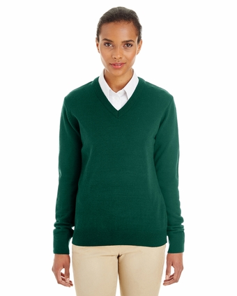 Ladies' Pilbloc™ V-Neck Sweater: (M420W)