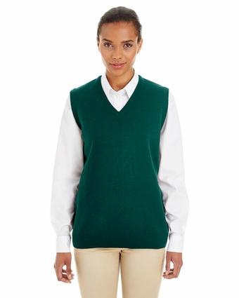 Ladies' Pilbloc™ V-Neck Sweater Vest: (M415W)