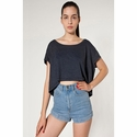 Ladies' Poly-Cotton Oversized Crop Tee: (SABB380)