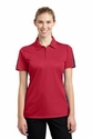 Ladies PosiCharge Active Textured Colorblock Polo
