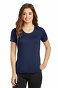 Ladies PosiCharge Elevate Scoop Neck Tee