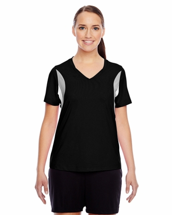 Ladies' Short-Sleeve V-Neck All Sport Jersey: (TT10W)