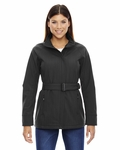 Ladies' Skyscape Three-Layer Textured Two-Tone Soft Shell Jacket: (78801)