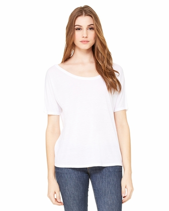 Ladies' Slouchy T-Shirt (Size 3XL)