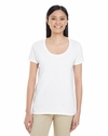 Ladies' Softstyle  4.5 oz. Deep Scoop T-Shirt