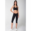 Ladies' Spandex Knee Length Fitness Pants: (SAAK304)
