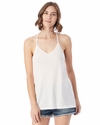 Ladies' Strappy Satin Jersey Tank