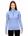 Ladies' Stretch Fleece Half-Zip: (89610)