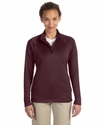 Ladies' Stretch Tech-Shell® Compass Quarter-Zip: (DG440W)