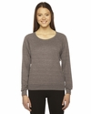 Ladies' Triblend Lightweight Raglan Pullover: (BR394)