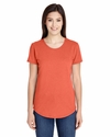 Ladies' Triblend Scoop Neck T-Shirt: (6750L)