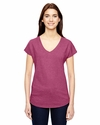 Ladies' Triblend V-Neck T-Shirt: (6750VL)
