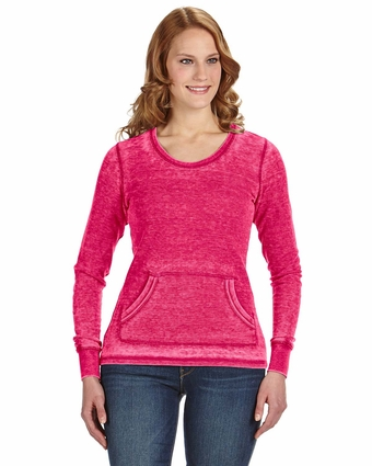 Ladies' Zen Thermal Long-Sleeve T-Shirt: (JA8255)