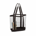 Large Clear Tote: (7009)