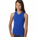 LAT Sportswear Girls Tank Top: (2624)