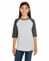 LAT Sportswear Youth T-Shirt: (6130)