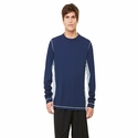 Men's Long-Sleeve Interlock Pieced T-Shirt: (M3021)