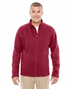 Men's Bristol Full-Zip Sweater Fleece Jacket: (DG793)