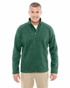 Men's Bristol Sweater Fleece Half-Zip: (DG792)