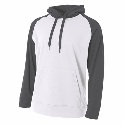Men's Color Block Tech Fleece Hoodie