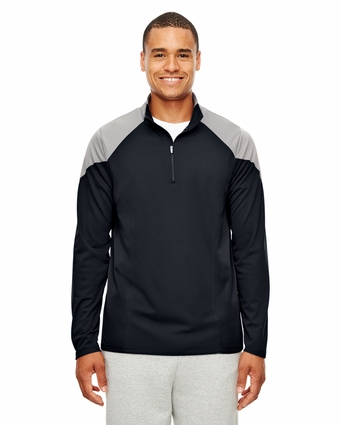 Men's Command Colorblock Snag-Protection Quarter-Zip