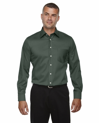 Men's Crown Collection™ Solid Stretch Twill: (DG530)