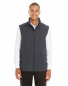 Men's Cruise Two-Layer Fleece Bonded Soft Shell Vest: (CE701)