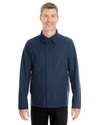 Men's Edge Soft Shell Jacket with Fold-Down Collar: (NE705)