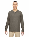Men's Excursion Nomad Performance Waffle Henley: (88221)