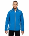 Men's Excursion Soft Shell Jacket with Laser Stitch Accents: (88693)