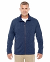 Men's Fairfield Herringbone Full-Zip Jacket: (D885)