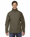 Men's Forecast Three-Layer Light Bonded Travel Soft Shell Jacket: (88212)