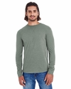 Men's Heather Sueded Long Sleeve Jersey