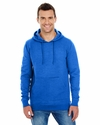Men's Injected Slub Yarn-Dyed Fleece Hoodie
