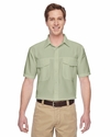 Men's Key West Short-Sleeve Performance Staff Shirt: (M580)