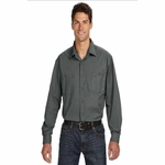 Men's Long-Sleeve Brick Workshirt: (4285)