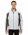 Men's Motion Interactive ColorBlock Performance Fleece Jacket: (88230)