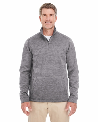 Men's Newbury Mélange Fleece Quarter-zip
