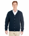Men's Pilbloc™ V-Neck Button Cardigan Sweater: (M425)