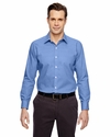 Men's Precise Wrinkle-Free Two-Ply 80's Cotton Dobby Taped Shirt: (88690)
