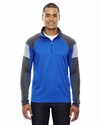 Men's Quick Performance Interlock Half-Zip Top: (88214)
