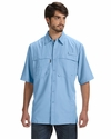 Men's Short-Sleeve Catch Fishing Shirt: (DD4406)