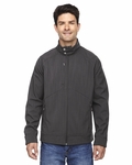 Men's Skyscape Three-Layer Textured Two-Tone Soft Shell Jacket: (88801)