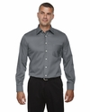 Men's Tall Crown Collection™ Solid Long-Sleeve Stretch Twill: (DG530T)