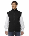 Men's Three-Layer Light Bonded Performance Soft Shell Vest: (88127)