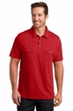 Mens Double Pocket Polo