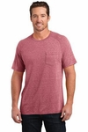 Mens Tri-Blend Pocket Tee