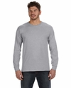 Midweight Long-Sleeve T-Shirt: (784AN)