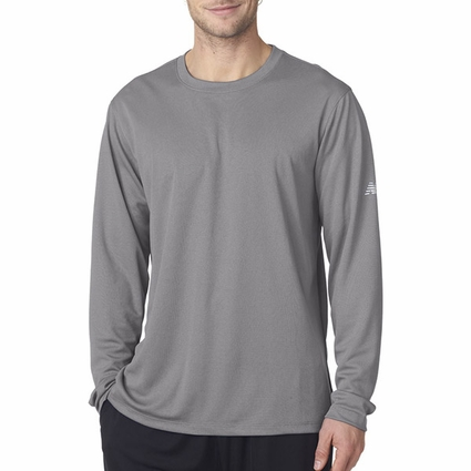 NB7119 New Balance NDurance Men's Athletic Long-Sleeve T-Shirt